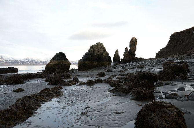 Sea stack.