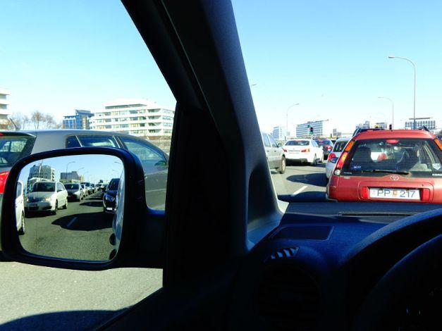 Reykjavík traffic jam